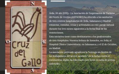 Gredoscasarural.es participa en Descansa en Gredos, te lo mereces